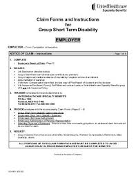 Aps) For Short Term Disability (Std): Form A - 1992 Hoodip