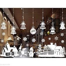 Sinwind Weihnachten Fenstersticker Fensteraufkleber Pvc