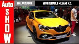 2018 renault megane rs interior. brilliant 2018 frankfurt auto show  2018 renault mgane r s walkaround interior  exterior inside renault megane rs interior