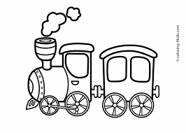 Easy Train Coloring Pages Fresh Printable Train Coloring Pages