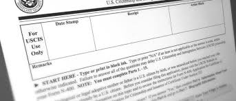 Tips For Completing Application Forms How To File Form N 400 Application For Naturalization Fileright