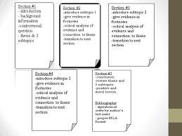 history summative argumentative essay format and mla ppt  3