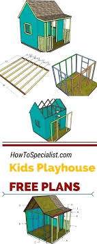 diy playhouse kit playhouse plans pallet outdoor concept of diy playhouse kitchen diy childrens kitchen