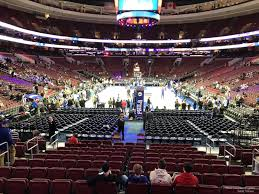 Wells Fargo Center Section 107 Philadelphia 76ers