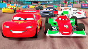 francesco bernoulli and lightning mcqueen. CARS Lightning Mcqueen Racing Francesco Bernoulli In An Epic Race YouTube Intended And