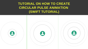 circle animation create circular pulse animaion in swift ios tutorial junction