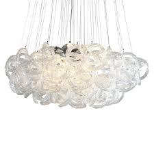 ch viz glass chandelier crystals lamp prisms
