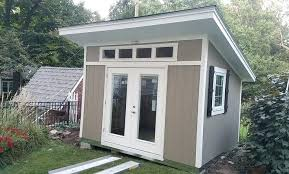 Home Office Shed Storage Construction Cost
