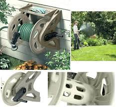 suncast hose reel cart garden hose reels garden hose reel wall mount heavy duty storage tray