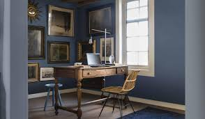 indigo home office. Paint Tips For Home Office With Classic Furniture Also Painting Trends 2017 And Wall Arts Indigo N