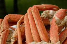 cooked wild king crab legs nutrition information eat this much