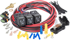 lsx dual fan dual activation fan relay kit 205 degrees f on 190 lsx dual fan dual activation fan relay kit 205 degrees f on 190