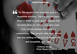 Beauty Comparison Quotes Best of To The People Who Love You You Are Beautiful Already This Is Not