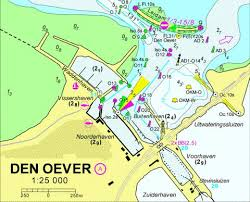 Nautical Charts Netherlands 18113a Den Oever Marine Chart Nl_18113a Nautical