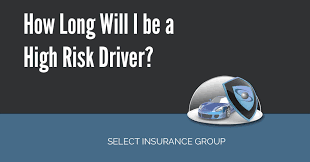 how long will i be a high risk driver