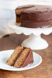 Vegan Gluten Free Vanilla Cake With Chocolate Frosting Vegan Richa