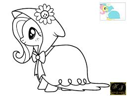Small Picture My Little Pony Coloring Pages Fluttershy Fluttershy Coloring