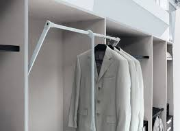 Pull Out Coat Rack Jesse Pull Down Rail Jesse Wardrobes At Go Modern Furniture 4