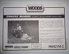 satoh parts woods rm42ym 2 mower operators owners parts manual kubota yanmar satoh tractor
