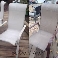 painting patio furnitureOld patio furniture no problem  Spray paint fabric
