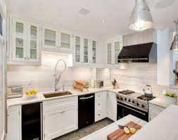 painted kitchen cabinets with black appliances. Beautiful With Remarkable Black Appliances With White Cabinet For Elegant Kitchen Ideas  Charming Ceiling Lights On Painted Cabinets