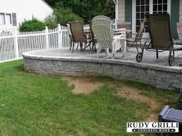 Backyard Concrete Designs Simple Rudy Grilli Concrete Work Stamped Decorative Concrete Raised Patios NJ