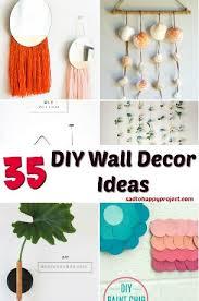 34 creative diy wall decor ideas sad
