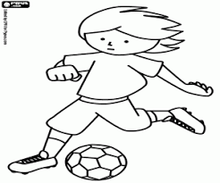 Small Picture Football or Soccer coloring pages printable games