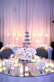 round centerpiece mirrors centerpieces best flowers candles images on table centers and wedding bouquets mirror whole