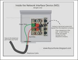 fix your home 8 28 11 9 4 11 the telephone network interface device typically refers to the junction box mounted by your telephone service provider on a wall just outside your home