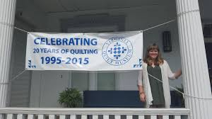 Virginia Quilt Museum Celebrates 20 Years | WMRA and WEMC & Executive Director of the Virginia Quilt Museum Kim McCray. Adamdwight.com