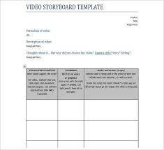 Funky Storyboard Templates Word Illustration - Examples Professional ...