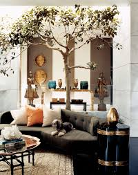Traditional Living Rooms Traditional Living Room By Kelly Wearstler By Architectural Digest