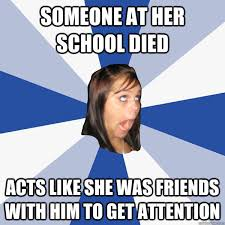 Annoying Facebook Girl memes | quickmeme via Relatably.com