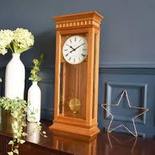 light oak westminster chime pendulum