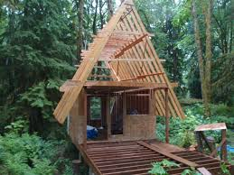 magnificent ideas small a frame house plans frame cabin small forum building plans 25082 regarding