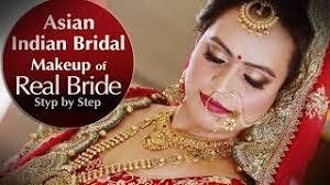 real indian asian bridal makeup tutor