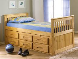 Expeditions Twin Size Captains Bed | Bed Frames | Discovery World ...