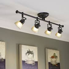 allen roth tucana 4 light oil rubbed bronze dimmable fixed track light