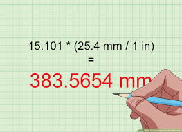 Metric Conversion Chart Inches To Mm How To Convert Inches To Millimeters 14 Steps With Pictures