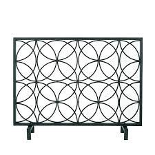 black fireplace screen black fireplace screen single panel fireplace screen single panel iron fireplace screen black