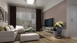 Living Room With Tv Decorating Living Room With Tv Background Wall Decorating And White Sofa With