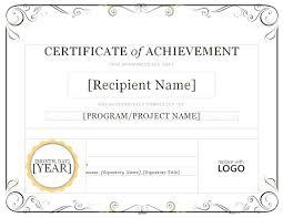 Template Microsoft Word Certificate Of Appreciation Template Ms