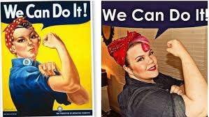 rosie the riveter is an iconic fast easy and fun costume idea whatiwore com vintageortacky