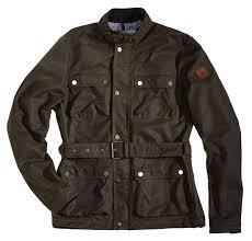 rokker wax cotton jacket long green