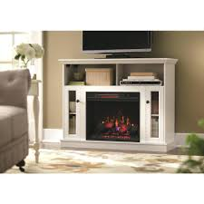 electric fireplace with mantel white home decorators collection stands logs no heat insert installation