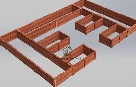 raised garden bed frame easy design