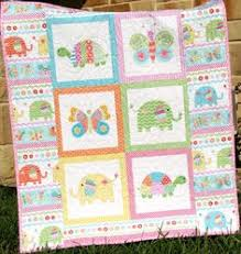 Quilt Kit At the Zoo Panel Stripe Quick Easy by SunnysideFabrics ... & LAST FOUR Quilt Kit, Girl Bundle of Love, Panel, Quick Easy, Beginner  Project, Fabrics, Baby Girl Quilt Kit, Crib Quilt Pink Giraffe Turtles Adamdwight.com