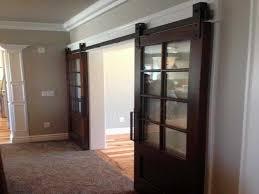large custom interior barn doors home interior design