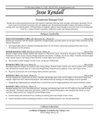 Chef Resume Samples Free Sous Chef Resume Sample Monstercom Sous
